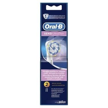 Oral-B Oral-B Diş Fırçası Yedek Başlığı Sensitive Ultra Thin 2 li Renksiz